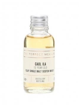 Caol Ila 12 Year Old Sample Islay Single Malt Scotch Whisky