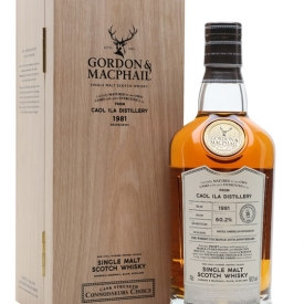 Caol Ila 1981 / 36 Year Old / Connoisseurs Choice / TWE Exclusive Islay Whisky