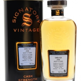 Caol Ila 2006 / 12 Year Old / Signatory Islay Whisky