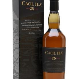Caol Ila 25 Year Old Islay Single Malt Scotch Whisky