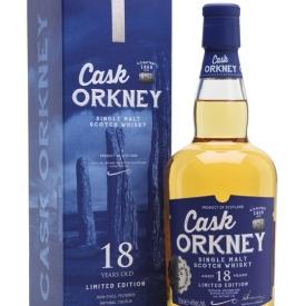 Cask Orkney 18 Year Old Island Single Malt Scotch Whisky