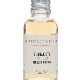 Clonakilty Port Cask Irish Whiskey Sample Blended Irish Whiskey