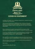 Corona Virus – Irish Whiskey Distillery Tour Closures