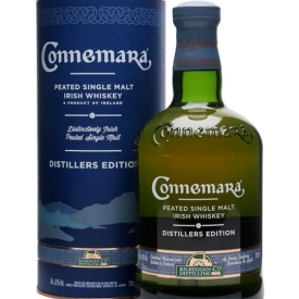 Connemara Distillers Edition Irish Single Malt Whiskey