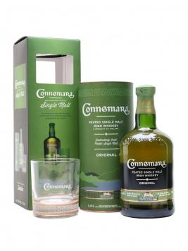 Connemara Peated Irish Whiskey Glass Pack Irish Single Malt Whiskey