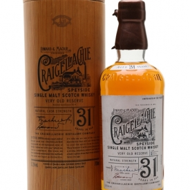 Craigellachie 31 Year Old Speyside Single Malt Scotch Whisky