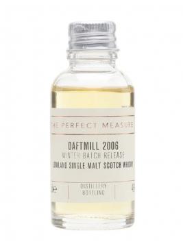 Daftmill Winter Batch Release 2006 Sample Lowland Whisky