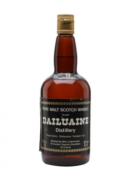 Dailuaine 1966 / 13 Year Old / Sherry Cask Speyside Whisky