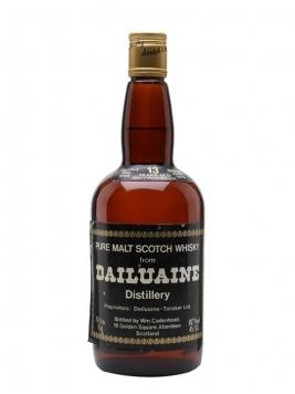 Dailuaine 1966 / 13 Year Old / Sherry Cask Speyside Whisky