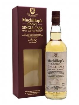 Dalmore 1991 / Bot.2009 / MacKillop's Choice Highland Whisky