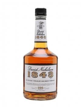 David Nicholson 1843 / 100 Proof Kentucky Straight Bourbon Whiskey