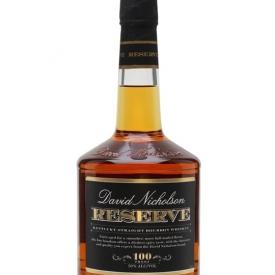 David Nicholson Reserve / 100 Proof Kentucky Straight Bourbon Whiskey