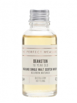 Deanston 18 Year Old Sample / Bourbon Matured Highland Whisky