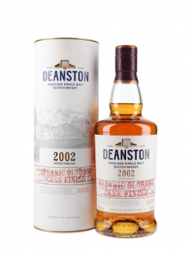 Deanston 2002 / Organic Oloroso Highland Single Malt Scotch Whisky