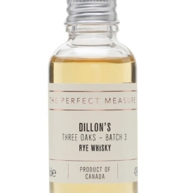 Dillon's Rye Whisky Sample / Three Oaks Batch 3 Canadian Rye Whisky
