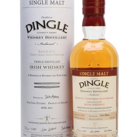 Dingle Triple Distilled / Batch 3 Irish Single Malt Whiskey