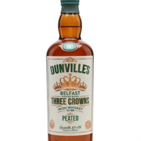 Dunville's Three Crowns Peated Whiskey Blended Irish Whiskey