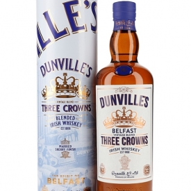 Dunville's Three Crowns Whiskey Blended Irish Whiskey