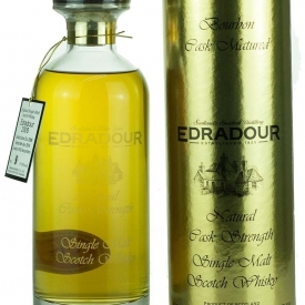 Edradour 10 Year Old 2008 Bourbon Cask IBISCO