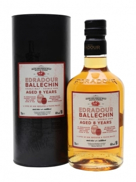 Edradour Ballechin Double Malt / 8 Year Old Highland Whisky