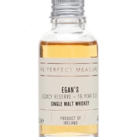 Egan's Legacy Reserve 16 Year Old Sample Single Malt Irish Whiskey