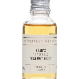 Egan's Single Malt Whiskey 10 Year Old Sample