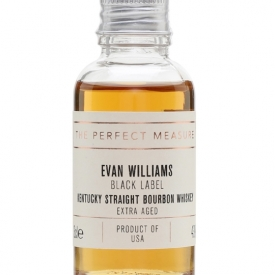 Evan Williams Extra Aged Bourbon Sample