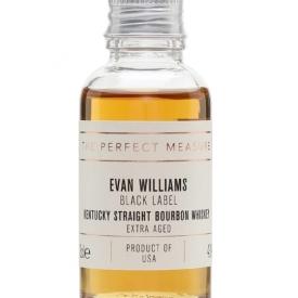 Evan Williams Extra Aged Bourbon Sample