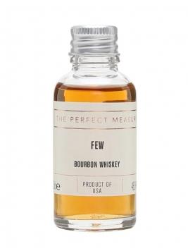 FEW Bourbon Whiskey Sample