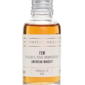 FEW Delilah's 23rd Anniversary Whiskey Sample