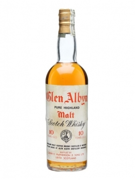 Glen Albyn 10 Year Old / Bot.1970s Highland Single Malt Scotch Whisky