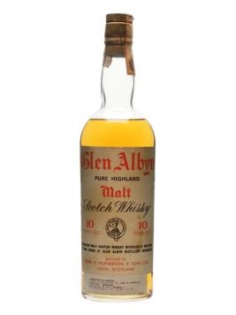 Glen Albyn 10 Year Old / Bot.1970s Highland Single Malt Scotch Whisky