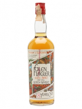 Glen Flagler 8 Year Old / Bot.1970s Lowland Single Malt Scotch Whisky