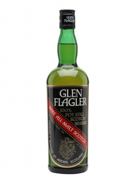 Glen Flagler / Bot.1970s Lowland Single Malt Scotch Whisky