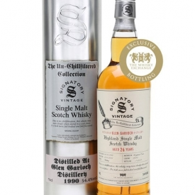 Glen Garioch 1990 / Signatory for Whisky Show Old & Rare Highland Whisky