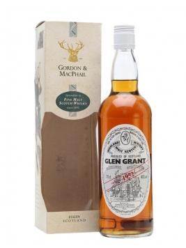 Glen Grant 1952 / Gordon & MacPhail Speyside Single Malt Scotch Whisky