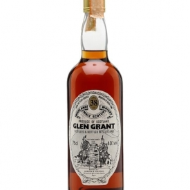 Glen Grant 38 Year Old / Bot.1980s / Gordon & Macphail Speyside Whisky