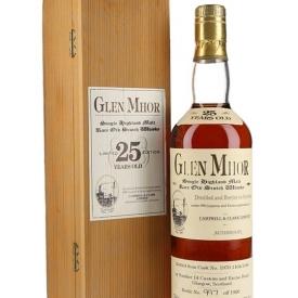 Glen Mhor 25 Year Old Highland Single Malt Scotch Whisky