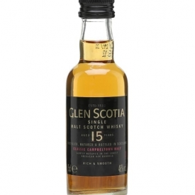 Glen Scotia 15 Year Old Miniature Campbeltown Whisky