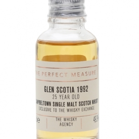 Glen Scotia 1992 Sample / The Whisky Agency / TWE Exclusive Campbeltown Whisky