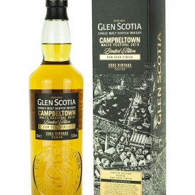 Glen Scotia 2003 Peated Rum Finish Campbeltown Malts Festival 2019