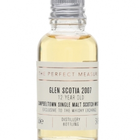 Glen Scotia 2007 Peated Sample / 12 Year Old / TWE Exclusive Campbeltown Whisky
