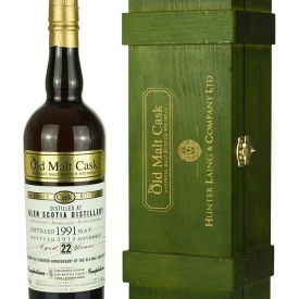 Glen Scotia 22 Year Old 1991 Old Malt Cask 15th Anniversary