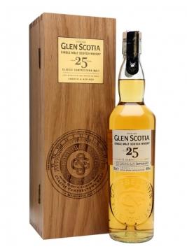 Glen Scotia 25 Year Old Campbeltown Single Malt Scotch Whisky