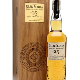 Glen Scotia 25 Year Old Campbeltown Single Malt Scotch Whisky