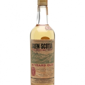 Glen Scotia 5 Year Old / Bot.1960s Campbeltown Whisky