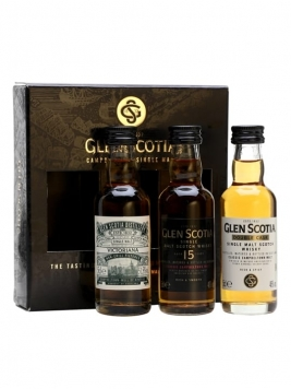 Glen Scotia Miniature Gift Pack / 3x5cl Campbeltown Whisky