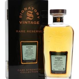 Glencraig 1976 / 40 Year Old / Rare Reserve / Signatory Speyside Whisky