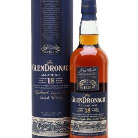 Glendronach 18 Year Old / Allardice / Sherry Cask Highland Whisky