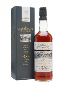 Glendronach 1974 / 18 Year Old / Sherry Cask Highland Whisky